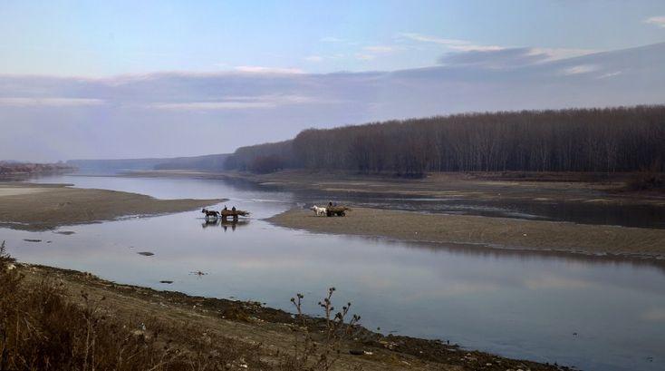 Danube River in Romania