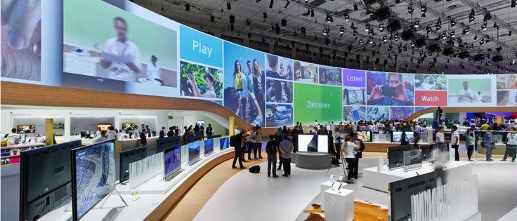 Sony - IFA Berlin 2014   Schmidhuber Exhibition Design