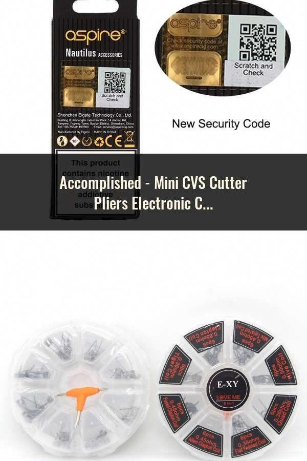 New Mini Cvs Cutter Pliers Electronic Vape Accessory Metal Diy Tool Wy