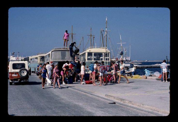 #Paros #Greece #Beautiful #Old #Vintage #Vacation #Boat #Cruise #Ocean #Summer