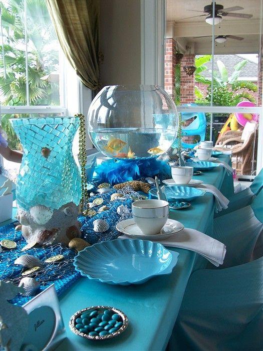 37 best Mermaid decor images on Pinterest | Mermaid parties ...