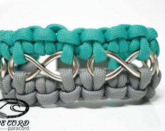 Inspiration: Infinity Paracord Bracelet                                                                                                                                                      More