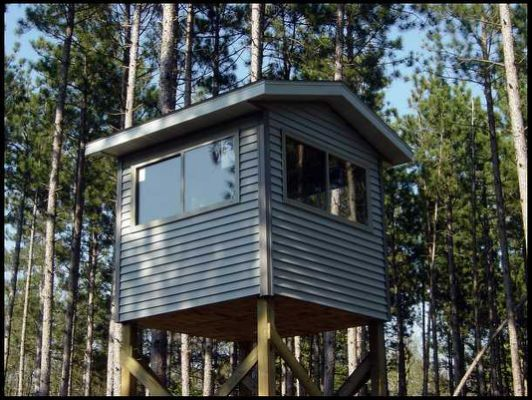 Homemade Deer Blinds Plans Free