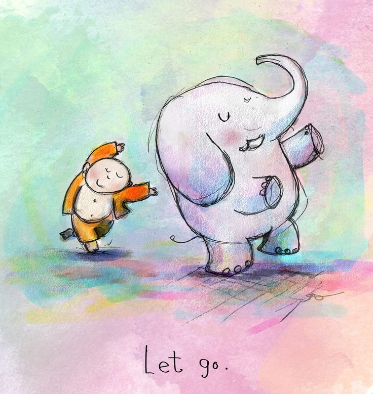 Today's Doodle: let go