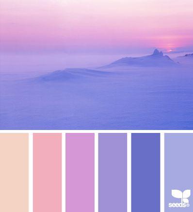 Colores de la montaña                                                  …#colores #combinación #pintura