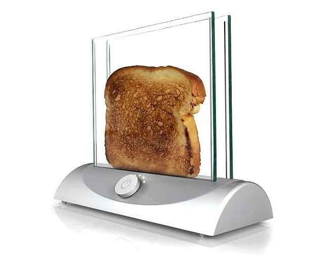 A toaster so sleek, it could be an Apple product | 5 Toasters Straight From the Jetsons
