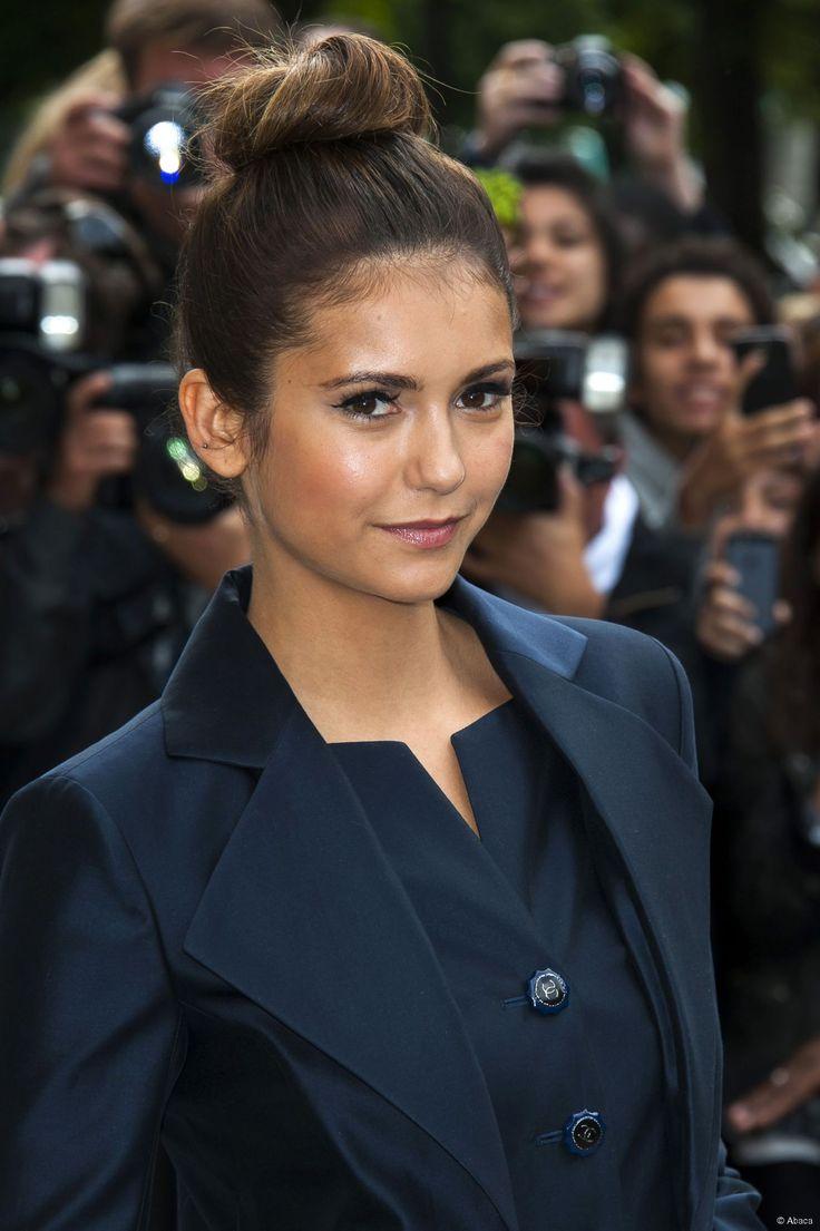 Nina Dobrev � Paris, le 8 juillet 2014.