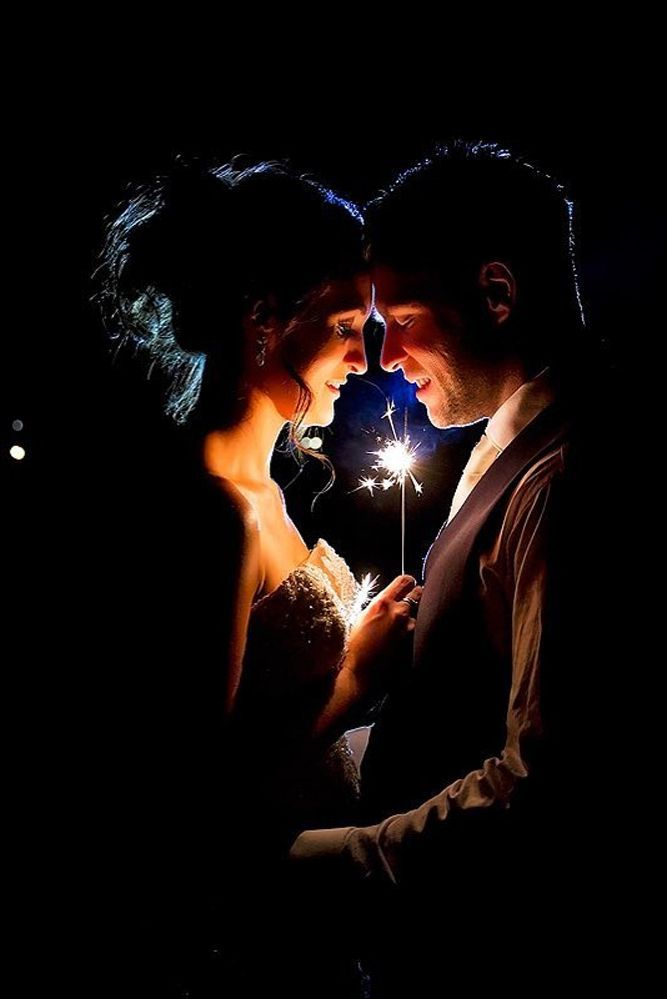 Unusual Sparkler Photo Ideas And Tips For Your Wedding ❤ See more: http://www.weddingforward.com/sparkler-photo-ideas-tips/ #weddings