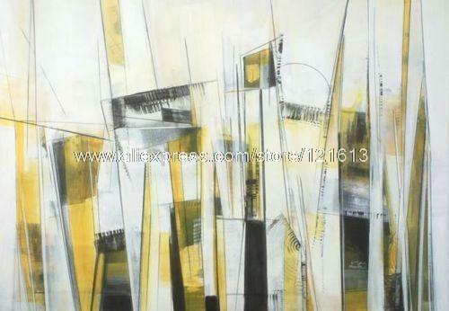 schilderij stad abstract - Google zoeken