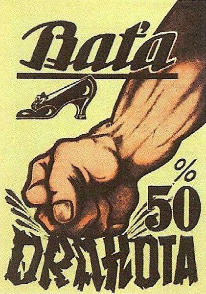 Baťa jako průkopník moderní reklamy