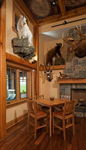 Trophy Room Design Ideas: 30 Best Images About Hunting Cabin Decor Ideas On