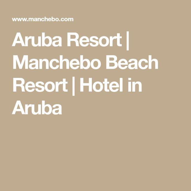 Aruba Resort | Manchebo Beach Resort | Hotel in Aruba