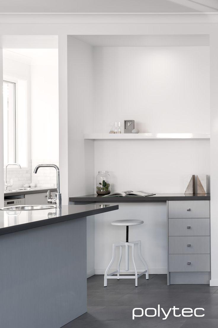 13 best polytec trend board images on pinterest kitchen for Zinc laminate