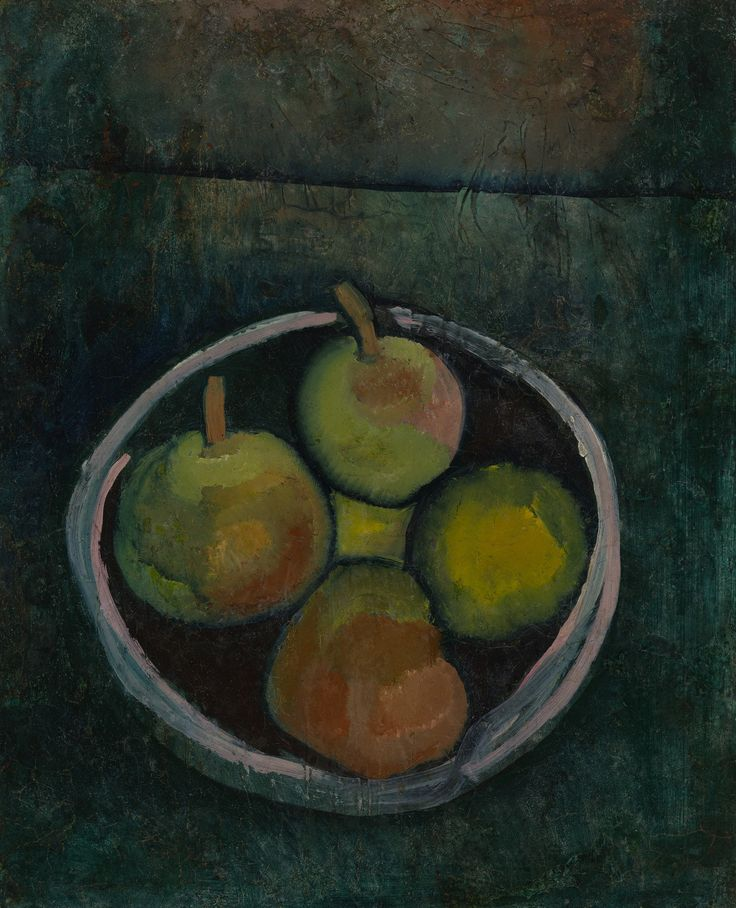 Paul Klee Still Life with Four Apples 1909