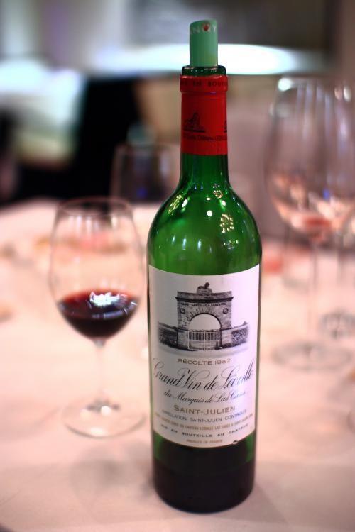 Chateau Leoville-Las Cases 'Grand Vin de Leoville du Marquis de Las Cases' 1982