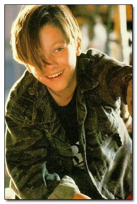 Edward Furlong as 'John Connor;' 1991, Terminator 2: Judgment Day