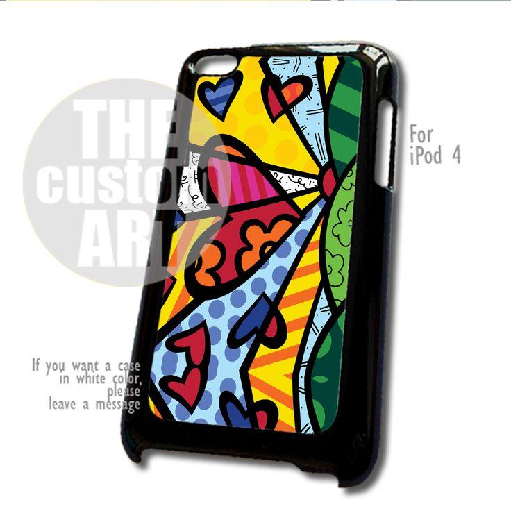 ROMERO Britto SUN LOVE case for iPod 4 | TheCustomArt - Accessories on Bonanza