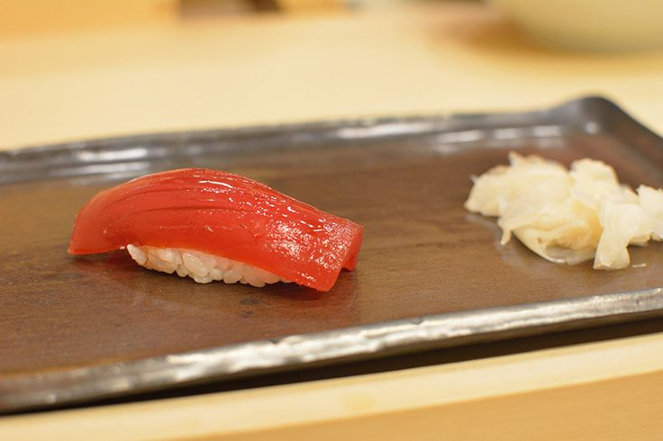 Never in my life have I seen sushi so beautiful.... The fish literally melts in my mouth. Tokyo seriously has some of the best sushi!