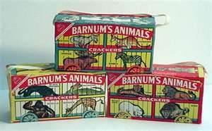 barnum's animals crackers 1960 - Bing Images Still love this
