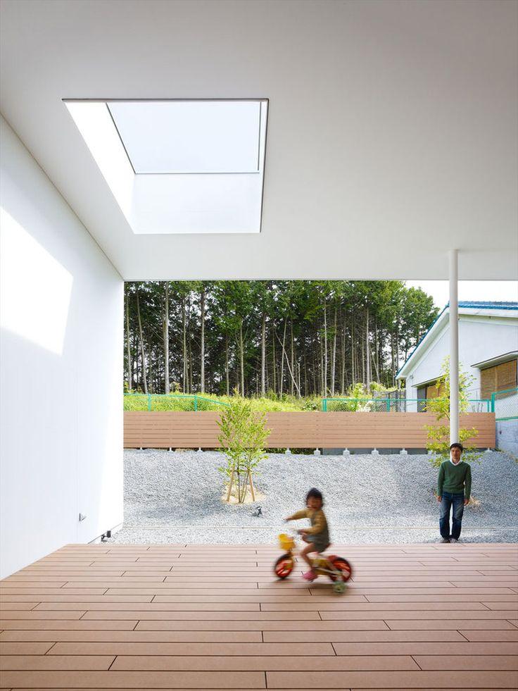 House at Kawachi-Nagano by Fujiwaramuro architects