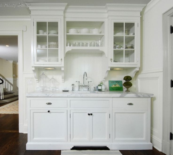 Lovely Bar Wall Cabinet Glass Doors Design Ideas White Kitchen Cabinets Via Decor Pad Muse Interiors