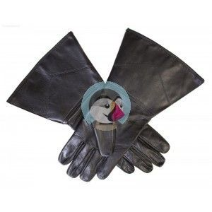 Knights of Malta Maltese Masonic Gauntlets in Real Leather.
