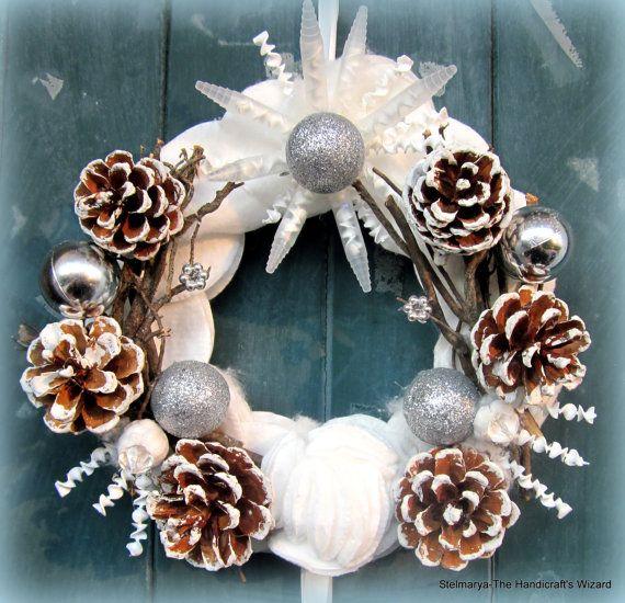 Christmas garland festivity decorations ornaments di Stelmarya