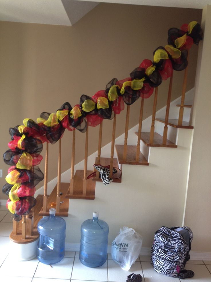 Mickey Mouse Deco Mesh Garland Mickey Mouse Party