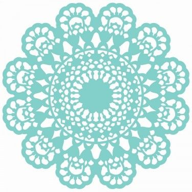 "Kaisercraft Lace Doily 12""x12"" Stencil Template T617 - Craftie-Charlie"