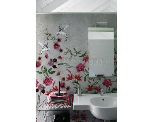 Tapeta Colibreeze w nowoczesnej łazience