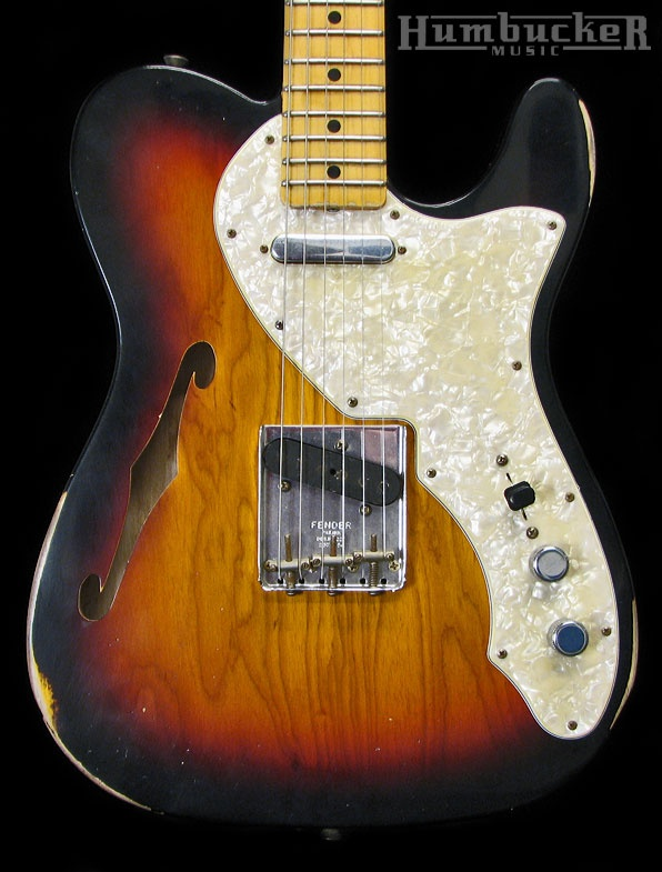 Fender Custom Shop Limited 1969 Relic Telecaster Thinline