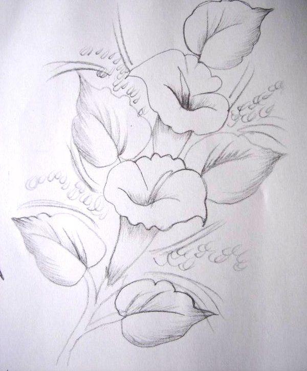 Risco flores | pinteeborde | Página 2