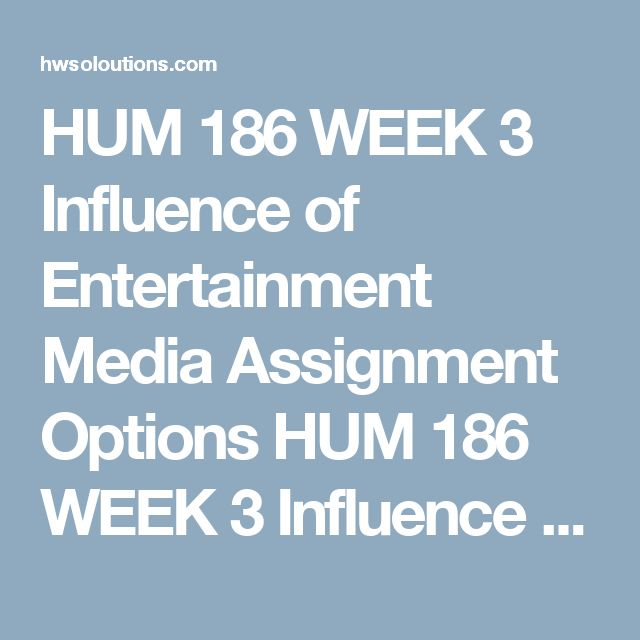 hum week four assignment Hum 105 week 2 individual assignment cosmic creation myths across cultures (2 papers) this tutorial was purchased 19 times & rated a+ by student like you this tutorial contains 2 different papers select at least two creation myths from two different cultures.