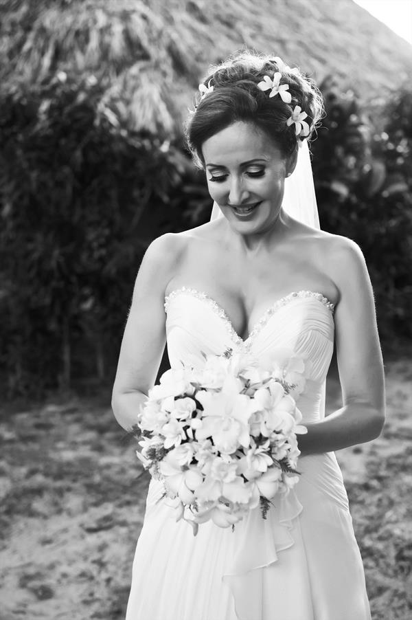 Beautiful Marina Prior looking amazing on her wedding day.Gown by Connie Simonetti