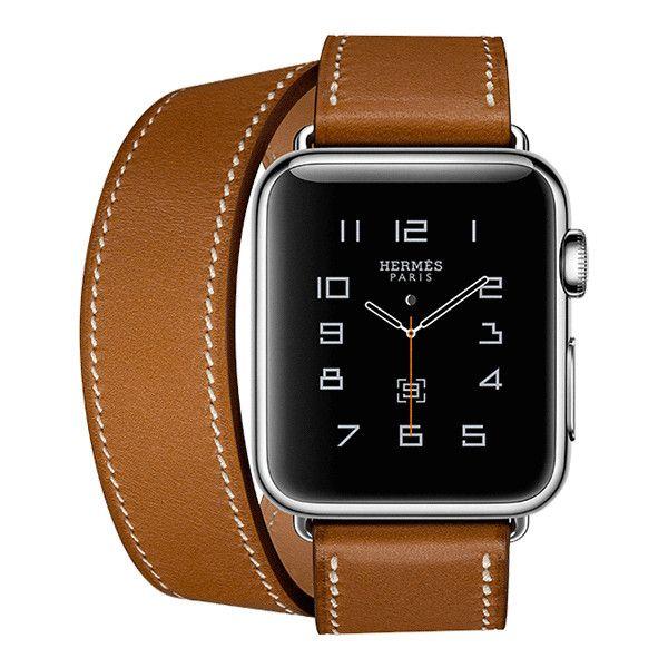 Apple Watch Hermès ❤ liked on Polyvore featuring jewelry, watches, hermes jewelry, apple watch, apple watches, hermes watches and hermès