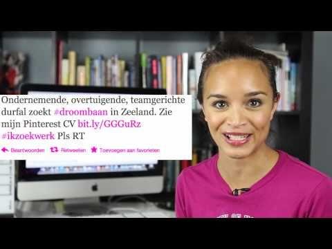 http://www.frankwatching.com Wanda Catsman vond haar nieuwe droombaan door een visuele CV te maken op Pinterest en slim gebruik te maken van sociale media.
