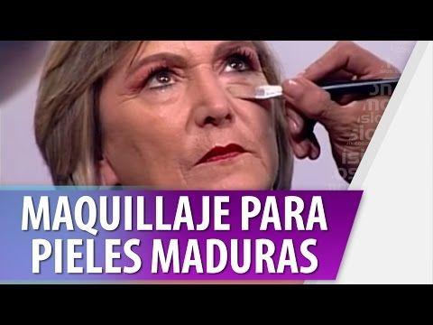 Maquillaje para pieles maduras!!! - YouTube