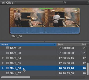 how to split audio in final cut pro