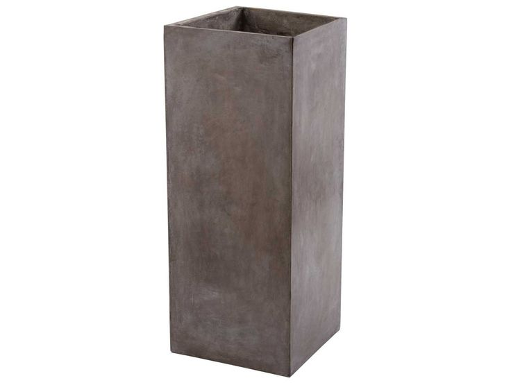 Lazy Susan Tall Al Fresco Cement Planter | 157-012