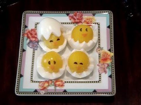 Here are the written instructions for this recipe:  http://asiancookingmadeeasy.blogspot.com/2012/04/how-to-cut-chick-out-of-egg.html