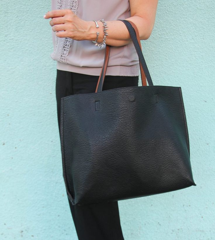 street level reversible tote bag and stella and dot bracelet