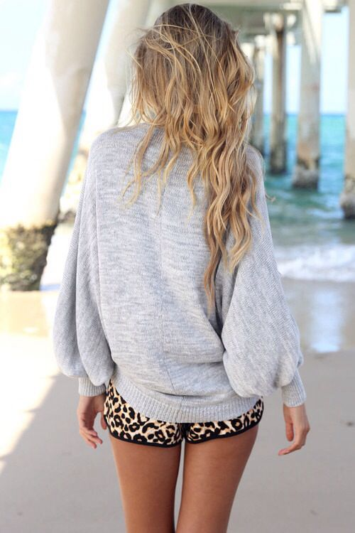 I saw these shorts today...I should go back and get them!? Cheetah Rawr...