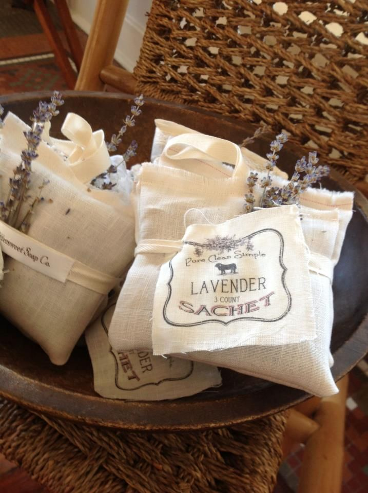 lavender sachet -- one of my BFFs had this on my pillow when I retired for bed.  I felt really welcomed!