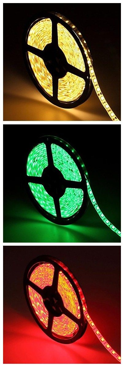 Multiple colors LED Strip Light, little gadget for you to rock your party night!