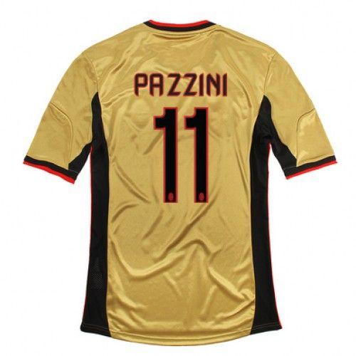 Maglia AC Milan 2013-2014 3rd 11 PAZZINI