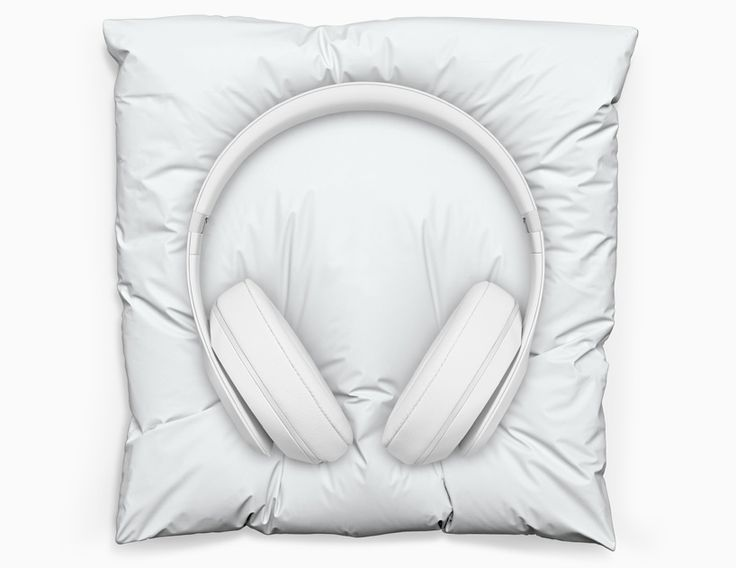snarkitecture creates marble pillow for limited edition beats studio headphones