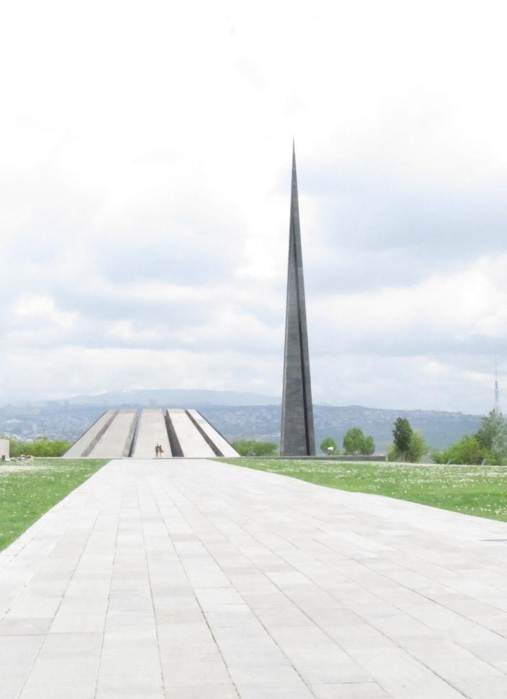 Armenian Genocide Memorial, May 5, 2012.