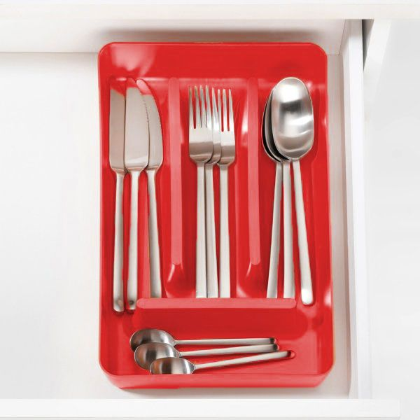 Koziol Rio Red Cutlery Tray