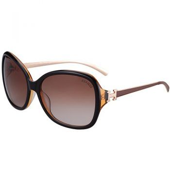 8d51c94714f4b Hermes H Logo Leather Brown Sunglasses 307847