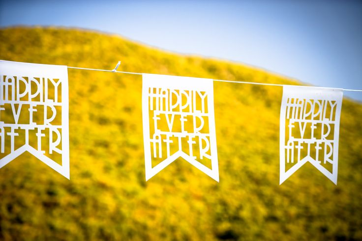 Hapilly ever after - Wedding banner ideas #weddingideas #weddingingreece #mythosweddings #kefalonia